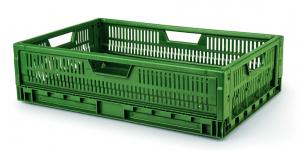 Bacs et conteneurs-Bacs pliables et gerbables emboîtables